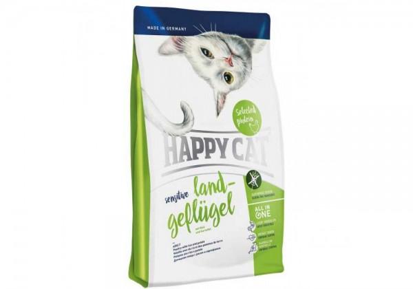 Happy Cat Sensitive 1,4kg Land-Geflügel