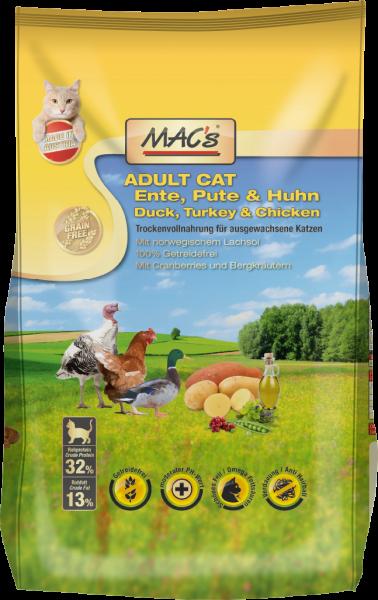 MACs Cat Adult 300g Ente Pute&Huhn