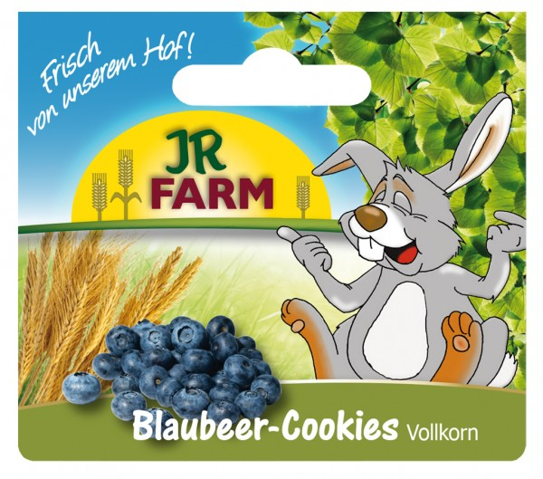 JR-Farm Vollkorn Blaube Cookies 80g