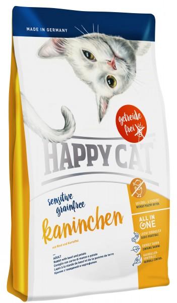 Happy Cat Sensitive 1,4kg Kaninchen