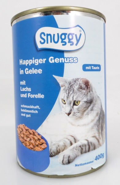 Snuggy Cat 400g Lachs&Forelle