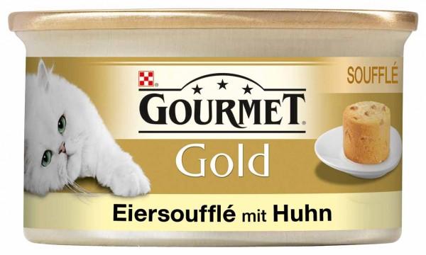 GOURMET Gold Eiersoufflé mit Huhn 85g