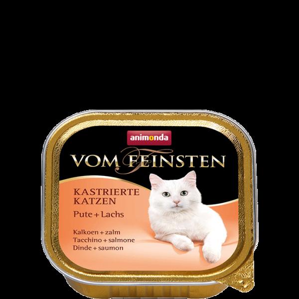 Cat Vom Feinsten Kastrat 100g Pute&Lachs