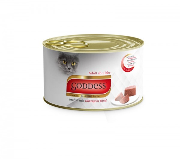 GODDESS 85g Paté mit Rind