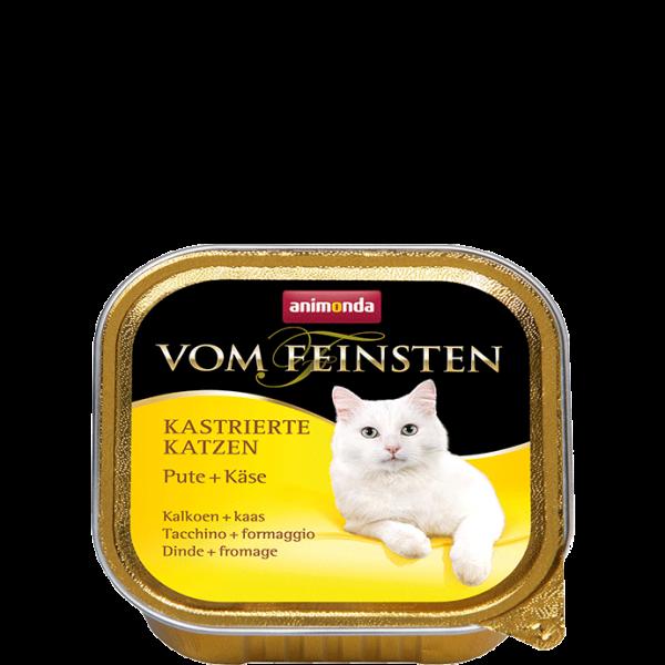 Cat Vom Feinsten Kastrat 100g Pute&Käse