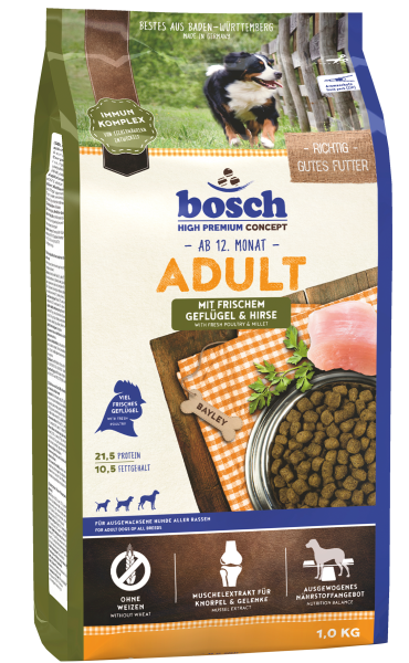 Bosch Adult 1kg Geflügel&Hirse