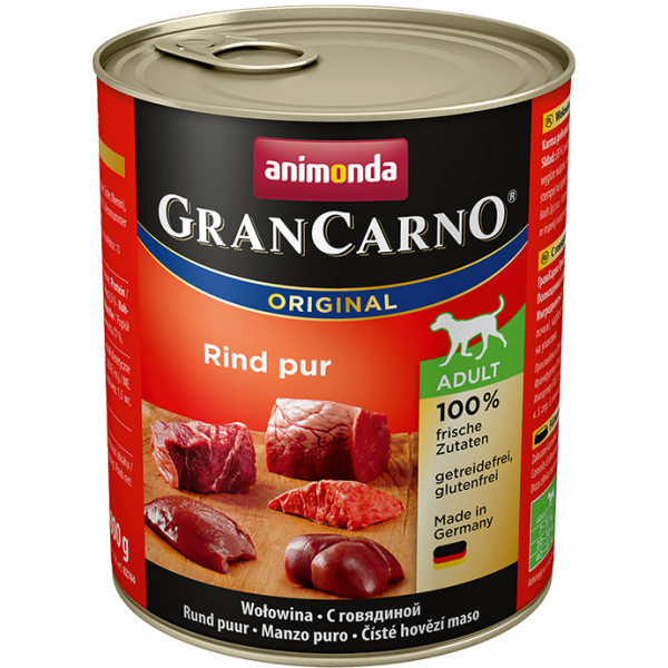 GranCarno Adult 800g Rindfleisch PUR