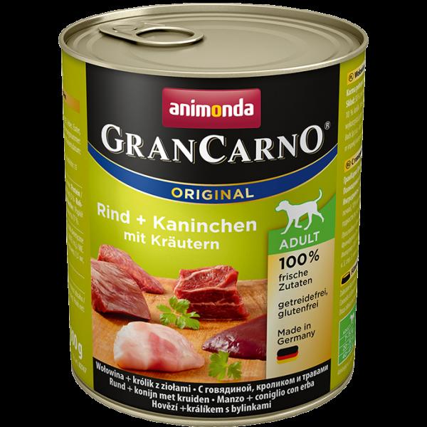 GranCarno 800g Rind&Kaninchen