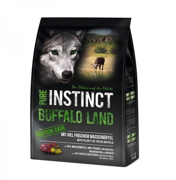 PURE INSTINCT 1kg Büffel & Strauß