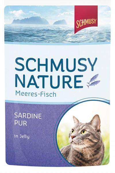 Schmusy Meeres-Fisch 100g Sardine pur