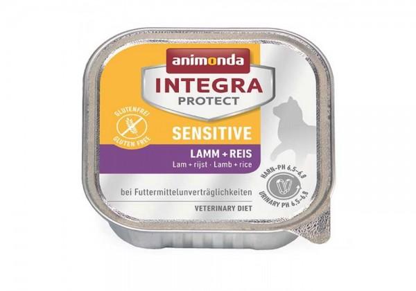 animonda Integra Protect Sensitive Katze 100g mit Lamm und Reis