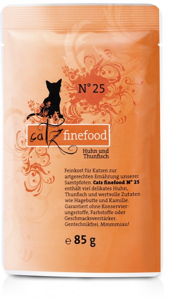 Cat 85g No.25 Huhn&Thunfisch