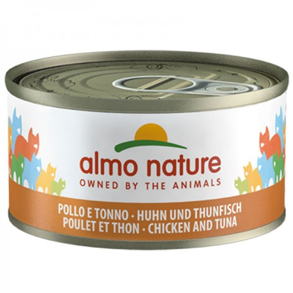 Almo Nature Cats Legend 70g Huhn&Thunfisch