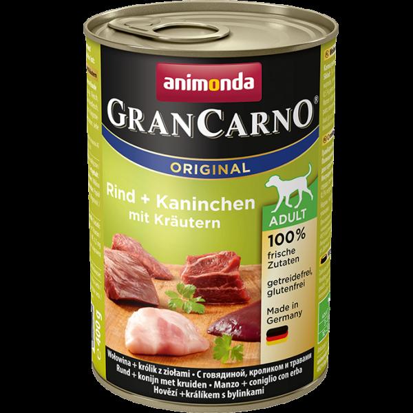 GranCarno Adult 400g Rind&Kaninchen