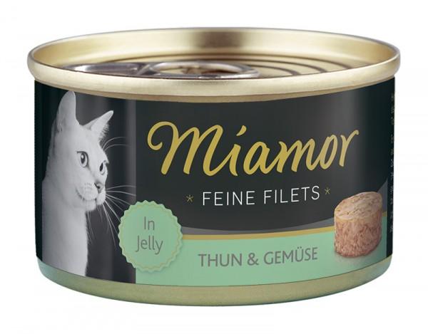 Miamor Feine Filets 100g Thunfisch&Gemüse