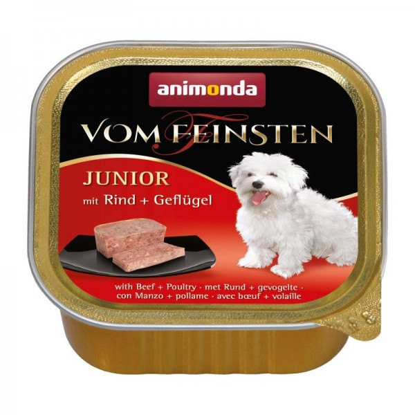 AM Dog V.F. Junior 150g Rind&Geflügel