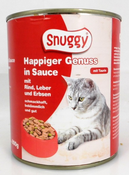 Snuggy Cat 800g Rind&Leber&Erbse