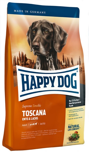 HAPPY DOG Supreme Sensible Nutrition Toscana 1kg