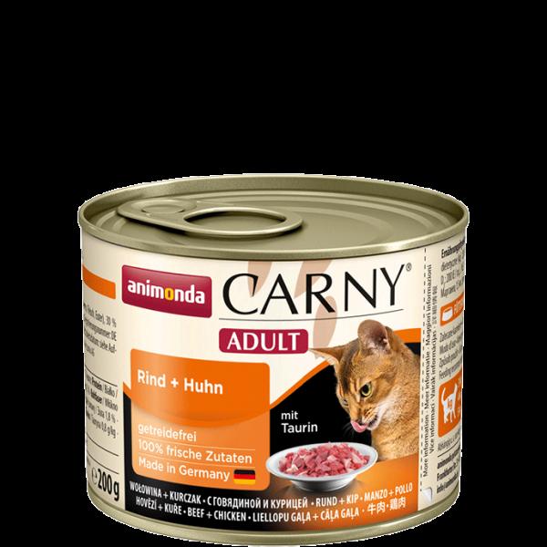 Carny Adult 200g Rind&Huhn