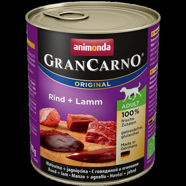 GranCarno Adult 800g Rind&Lamm