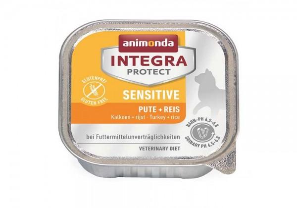 animonda Integra Protect Sensitive Katze 100g mit Pute und Reis