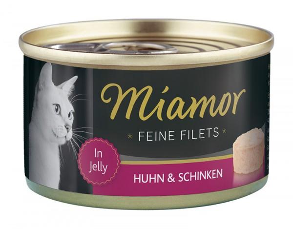 Miamor Feine Filets 100g Huhn&Schinken