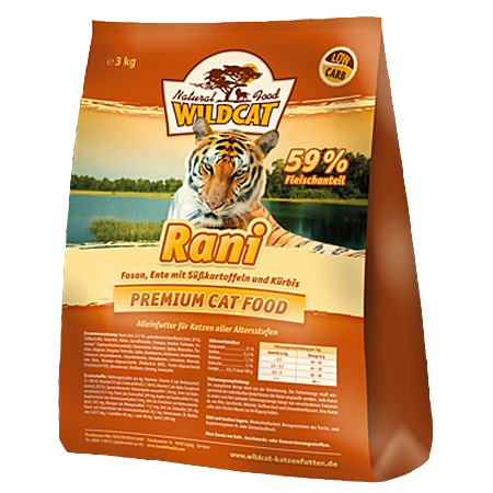 Wildcat Rani Fasan&Ente 500g
