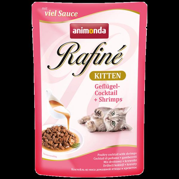 Rafiné 100g Kitten Gefügel&Shrimps