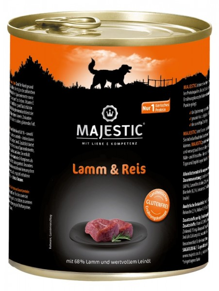 MAJESTIC 800g Lamm&Reis