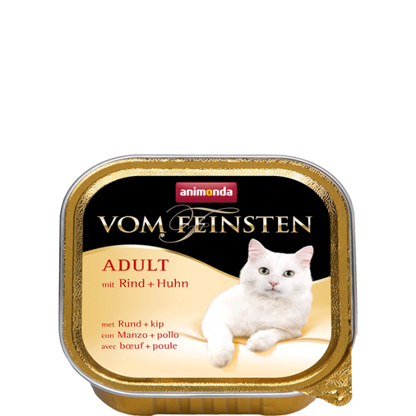 Cat Vom Feinsten Adult 100g Rind&Huhn