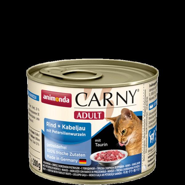 Carny Adult 200g Rind&Kabeljau