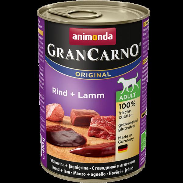 GranCarno Adult 400g Rind&Lamm
