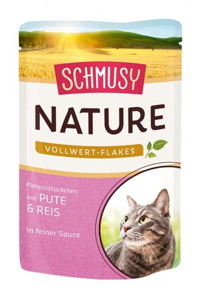 Schmusy Nature 100g Pute&Reis