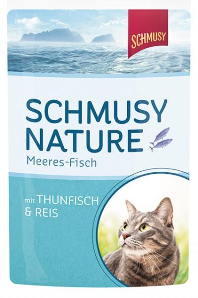 Schmusy Meeres-Fisch 100g Thunfisch&Reis