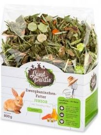 LandPartie 800g Zwergkaninchen-Futter sensitiv Junior