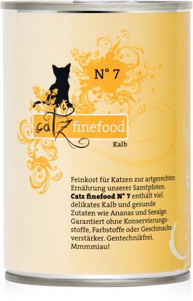 Catz finefood N° 7 - Kalb - 400g