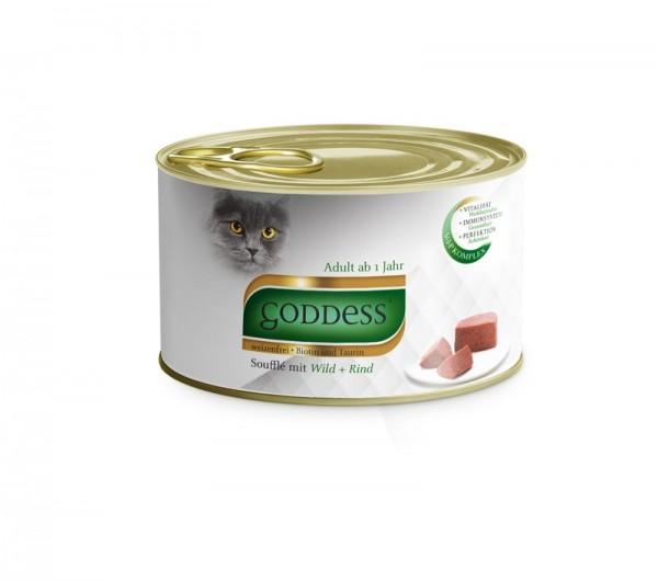 GODDESS 85g Paté mit Rind&Wild