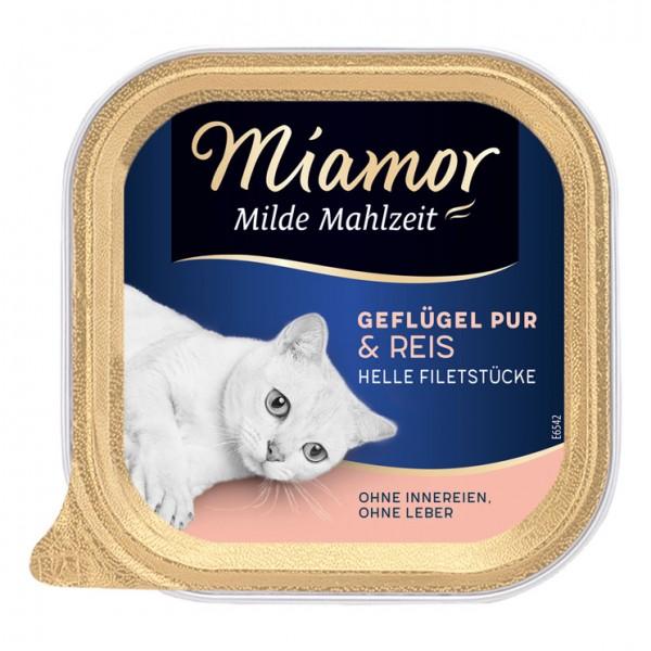 Miamor Milde Mahlzeit 100g Geflügel&Reis