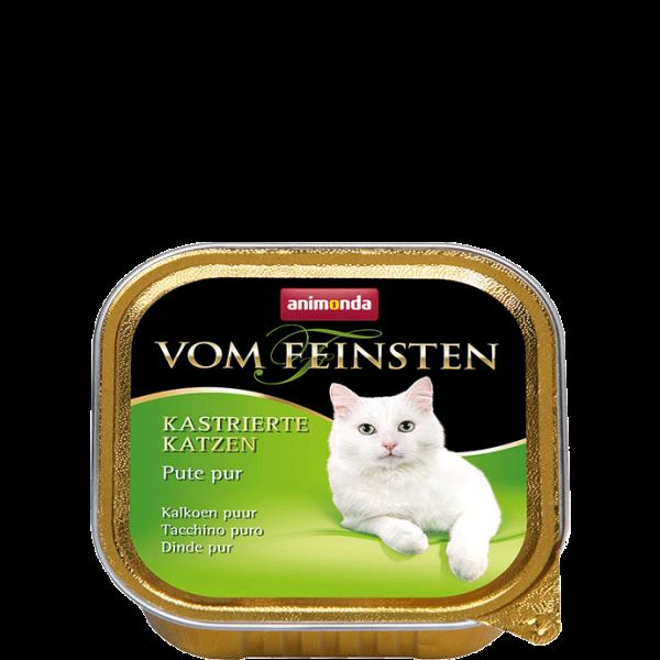 Cat Vom Feinsten Kastrat 100g Pute pur
