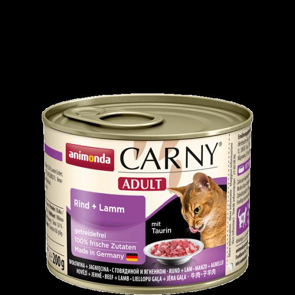 Carny Adult 200g Rind&Lamm