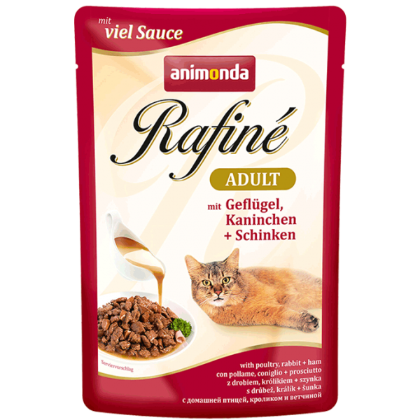 Rafiné 100g Geflügel&Kaninchen