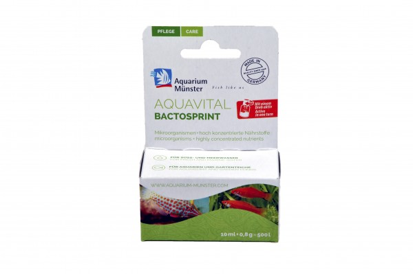 AQUAVITAL BACTOSPRINT 10 ml + 0,8 g