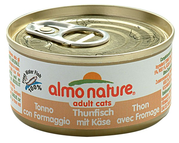 Almo Nature Cats 70 g Thunfish&Käse
