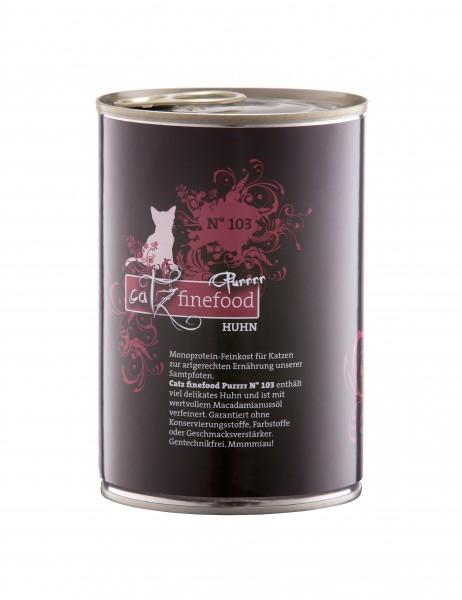 Catz FineFood Purrrr No.103 Huhn Nassfutter 400 g