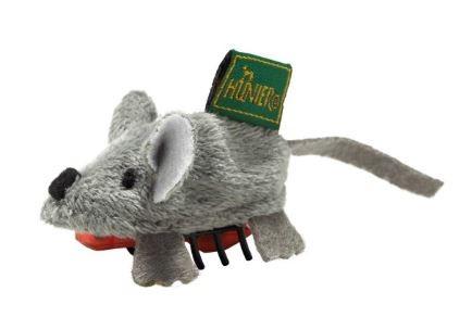 Hunter Katzenspielzeug Running Maus 5 cm, grau