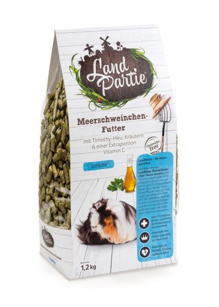 LandPartie 1,2 kg Meerschweinchen Monopellets Sensitiv