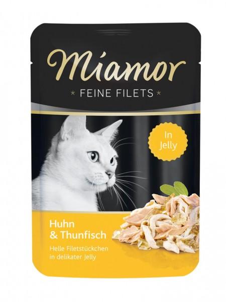Miamor Feine Filets 100g Huhn&Thunfisch